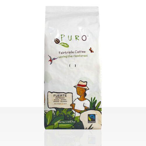 Miko Kaffee GmbH Miko Puro Fuerte Fairtrade - 1kg Espresso ganze Kaffee-Bohne