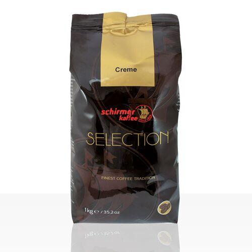 Schirmer Selection Creme - 1kg Kaffee ganze Bohne