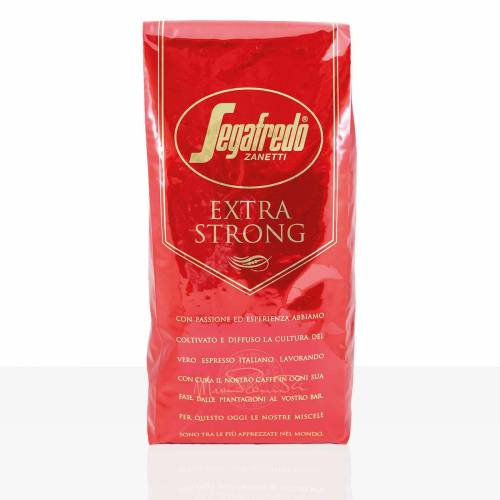 Segafredo Extra Strong Espresso - 6 x 1kg ganze Kaffee-Bohne
