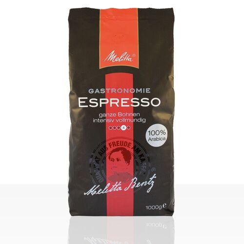 Melitta Gastronomie Espresso 100% Arabica - 1kg ganze Kaffee-Bohne