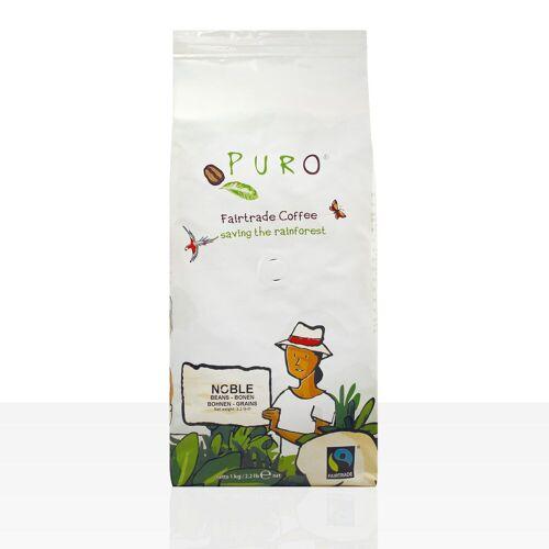 Miko Kaffee GmbH Miko Puro Noble Fairtrade - 1kg Crema ganze Kaffee-Bohne
