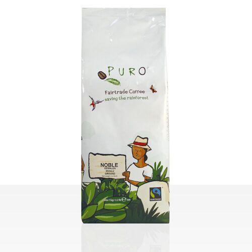 Miko Kaffee GmbH Miko Puro Noble Fairtrade - 1kg Crema Kaffee gemahlen