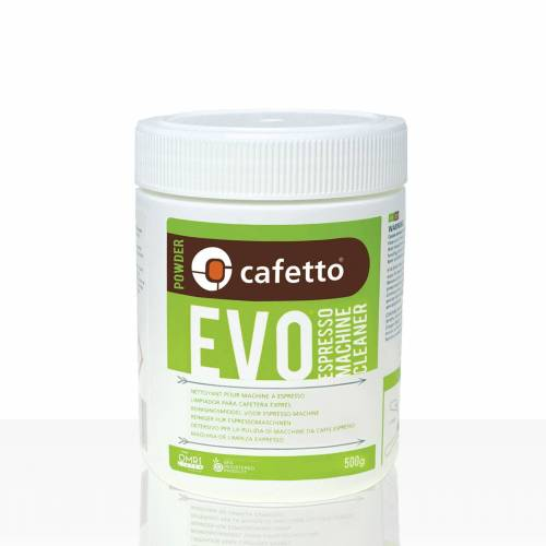 Cafetto EVO Reiniger für Espressomaschinen 500g Pulver, rein organisch