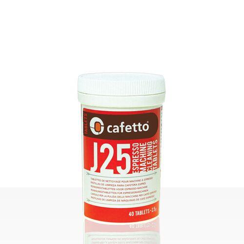 Cafetto J25 Reinigungstabletten für Espressomaschinen 40 x 2,5g
