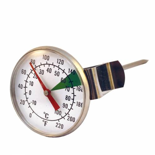 No Name Analog Barista-Thermometer ø 45 mm, Milch-Thermometer Barista Zubehör