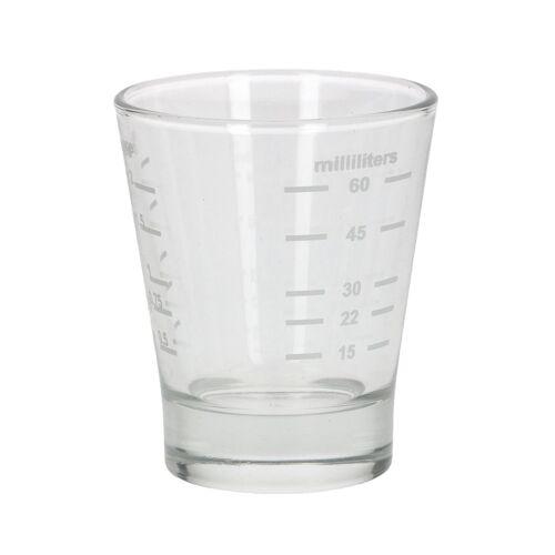 No Name Espresso Shotglass Messglas 15/60 ml - Barista Zubehör