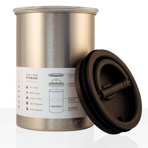 No Name AIRSCAPE - Kaffee-Dose, Aufbewahrungsdose chrome 1800 ml