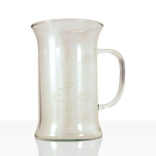 EILLES Teeglas dünnwandig, schickes Glas für Tee 0,2l