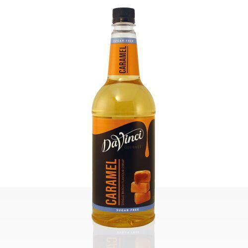 Da Vinci Gourmet Sirup Sugar Free Caramel 1000ml Karamell zuckerfrei