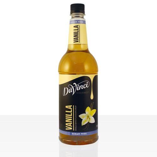 Da Vinci Gourmet Sirup Sugar Free Vanilla 1000ml Vanille zuckerfrei
