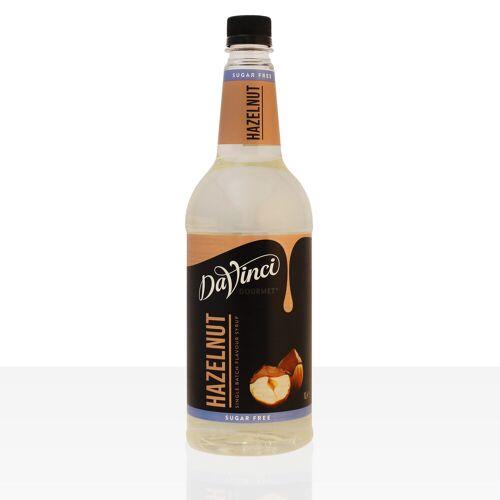 Da Vinci Gourmet Sirup Sugar Free Hazelnut 1000ml Haselnuss zuckerfrei