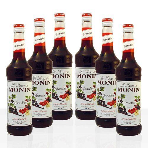 Monin Sirup Grenadine 6 x 0,7 l