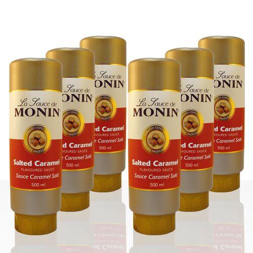 Monin Sauce Salted Caramel 6 x 0,5 l