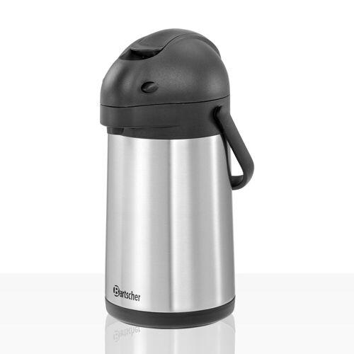 Bartscher Pumpkanne Edelstahl 1,9l, Kaffee-Kanne für zb Aurora 22