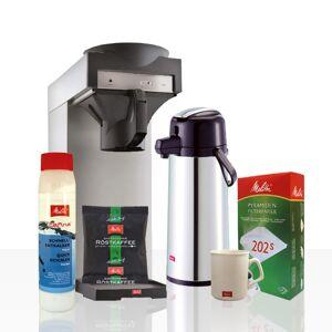 Melitta Kaffeeversorgung-Starterpaket inkl. Kaffeemaschine, Kaffee und Zubehör