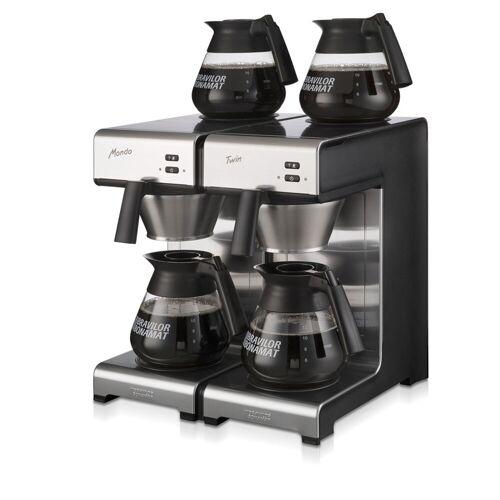 Bonamat Mondo Twin Kaffeemaschine inkl. 4 Glaskannen 1,7l