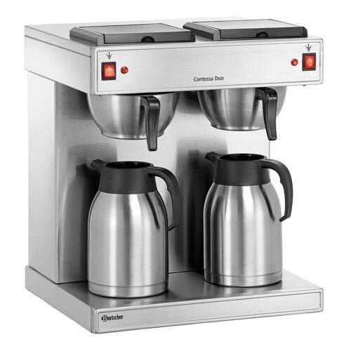 Bartscher Contessa Duo Doppel-Kaffeemaschine inkl. 2 Kannen 2l