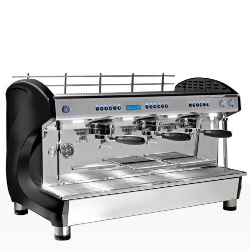 Melitta Cafina Life High Cup 3, Halbautomat Siebträger 3-gruppig + CF Espresso