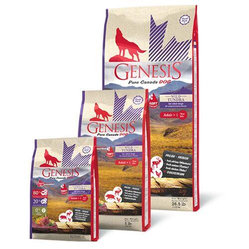 GENESIS Dog Hundefutter Wild Taiga/Tundra ( Soft ) Adult - 907 g