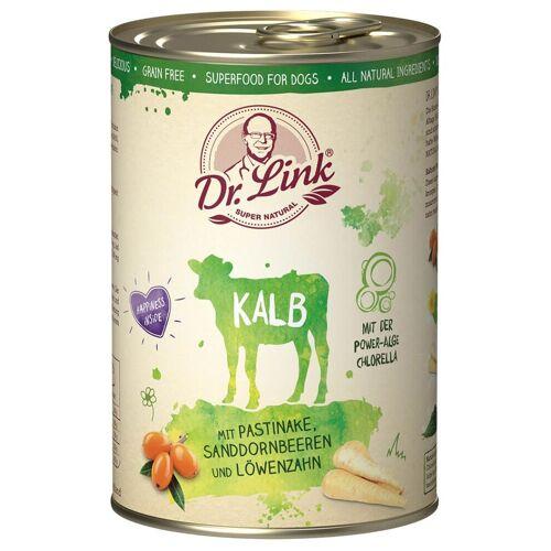 Dr. Link Hundefutter Super Natural Kalb - 400 g