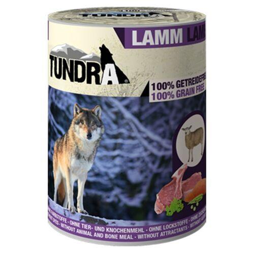 Tundra Hundefutter Lamm Nassfutter - 400 g