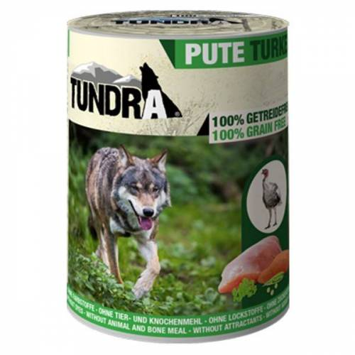 Tundra Hundefutter Pute Nassfutter - 800 g