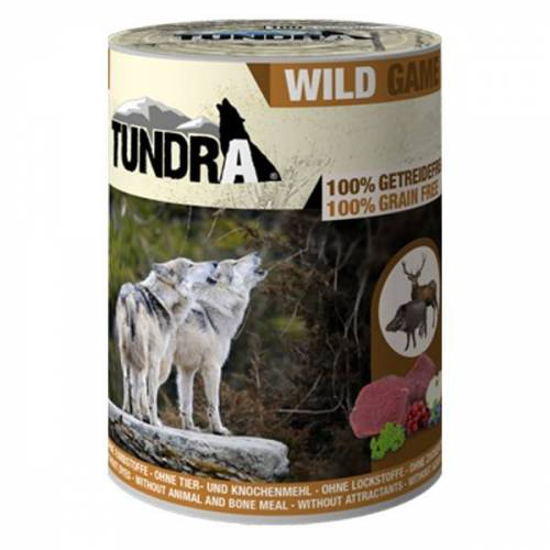 Tundra Hundefutter Wild Nassfutter - 800 g