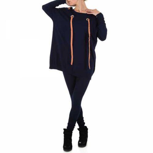 Ital-Design Zweiteiler für Damen in Blau