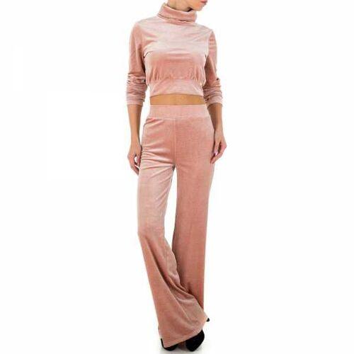 Ital-Design Zweiteiler für Damen in Rosa