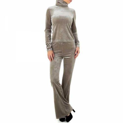 Ital-Design Zweiteiler für Damen in Grau