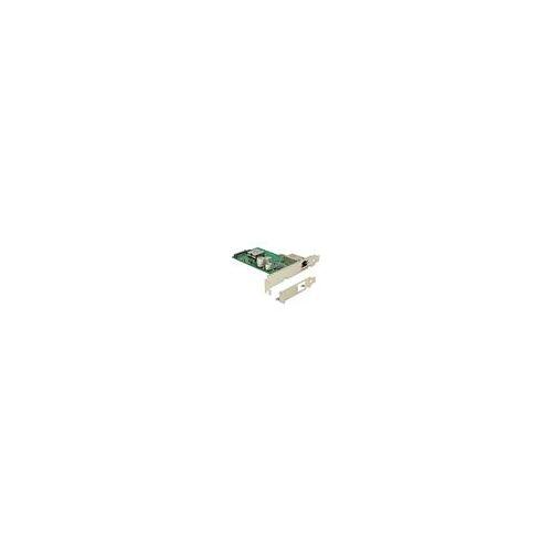 Delock PCIe Netzwerkkarte 1x RJ45 Gigabit LAN PoE+ RJ45