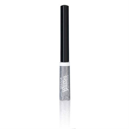 Beauty UK Cosmetics Beauty UK Glitter Liquid Eyeliner, No.1 Silver