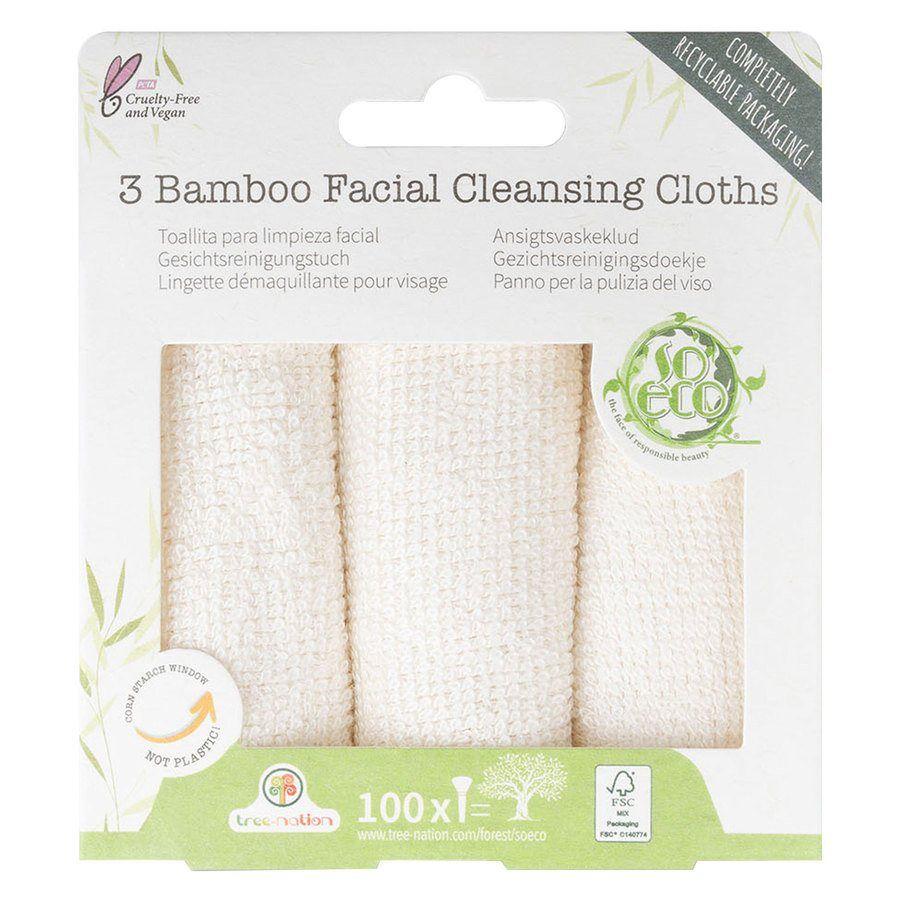 ECO So Eco 3 Facial Cleansing Cloths
