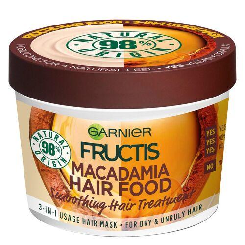 Garnier Hårpleie Garnier Fructis Hair Food Mask, Macadamia 390ml