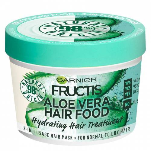Garnier Hårpleie Garnier Fructis Hair Food Mask, Aloe Vera 390ml