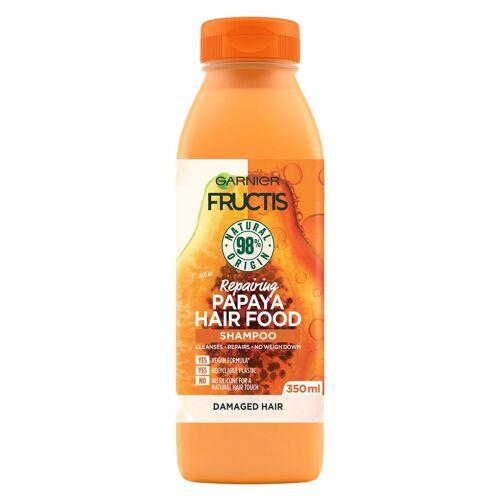 Garnier Hårpleie Garnier Fructis Hair Food Shampoo, Papaya 350ml