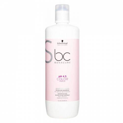 BC Bonacure Schwarzkopf BC Bonacure Color Freeze Shampoo Silver (1000 ml)