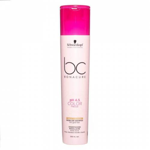 BC Bonacure Schwarzkopf BC Bonacure Color Freeze Shampoo Golden Shimmer (250 ml)