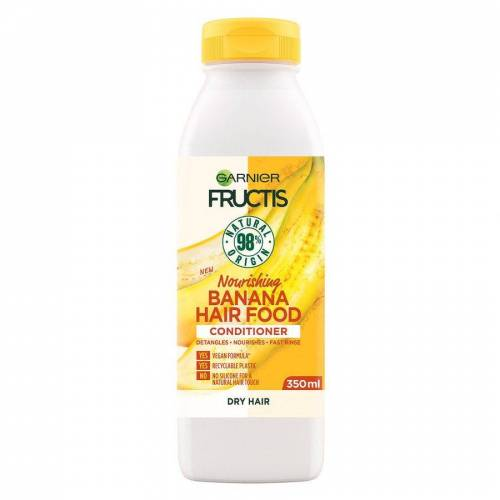Garnier Fructis Hair Food Conditioner, Banana 350 ml