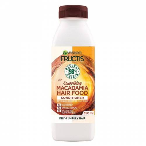 Garnier Fructis Hair Food Conditioner, Macadamia 350 ml