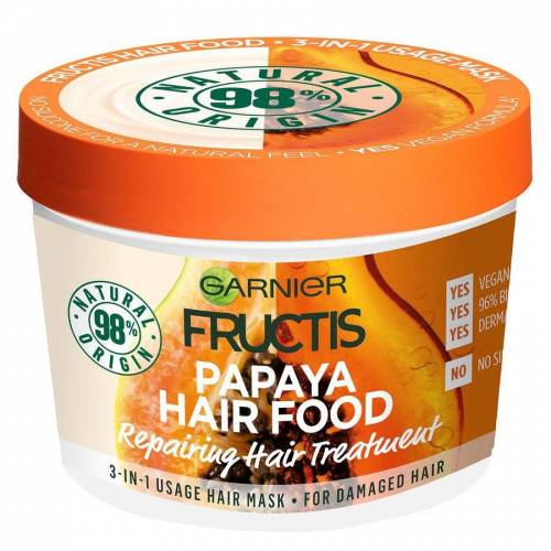 Garnier Hårfarge Garnier Fructis Hair Food Mask, Papaya 390 ml