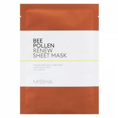 Missha Bee Pollen Renew Sheet Mask (25ml)