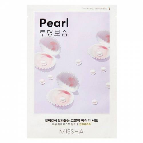 Missha Airy Fit Sheet Mask, Pearl (19 g)