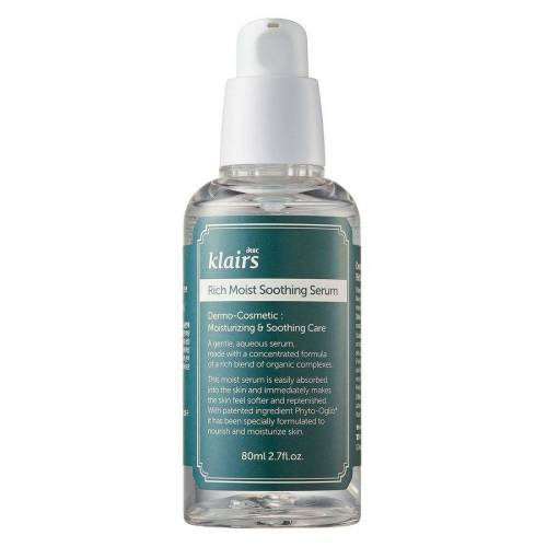 Klairs Rich Moist Soothing Serum (80 ml)