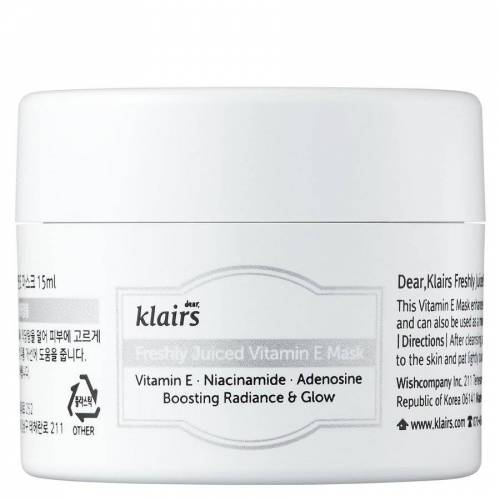 Klairs Freshly Juiced Vitamin E Mask Miniature (15ml)