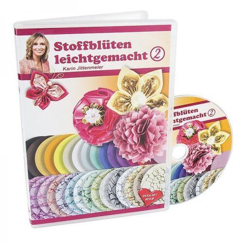 Ideen mit Herz DVD, Stoffblüten leichtgemacht 2, 70 Min.