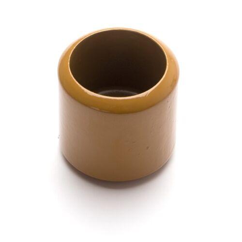 Monti-D Goldener Holzbecher für goldene Perlen