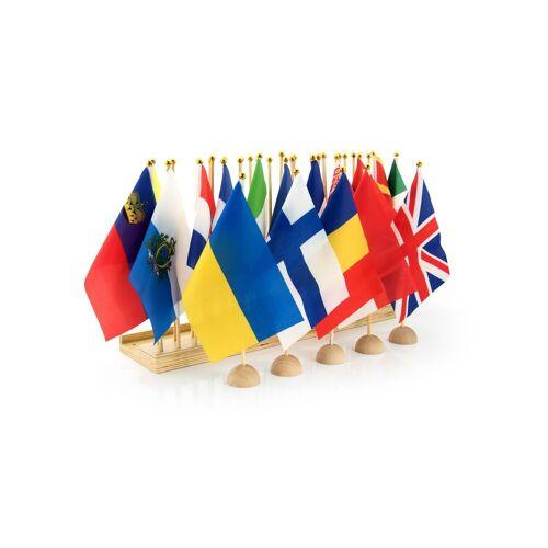 Monti-R Flaggenständer Europa mit 44 Flaggen