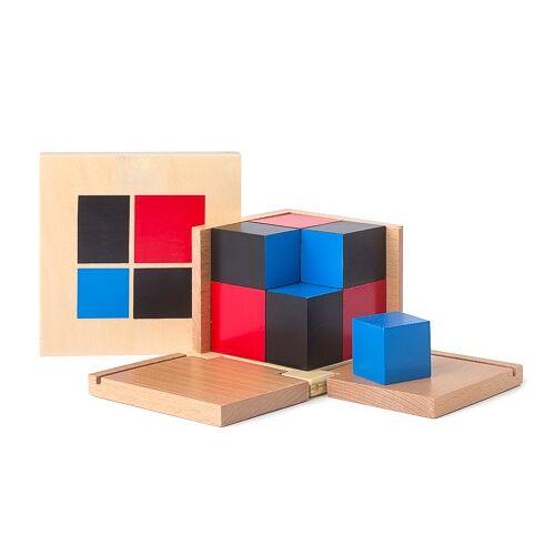 Monti-D Binomischer Würfel nach Montessori