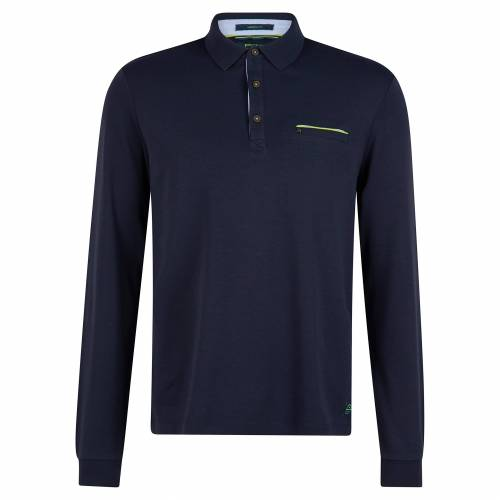 Pierre Cardin Langärmeliges Poloshirt XXL